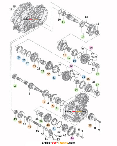 VW Transmission Parts Diagram http://www.zelek.com/Diagram02A-1.htm